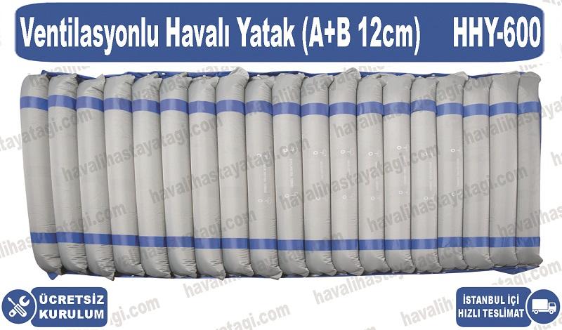 Ventilasyonlu Havalı Yatak (A+B 12cm)