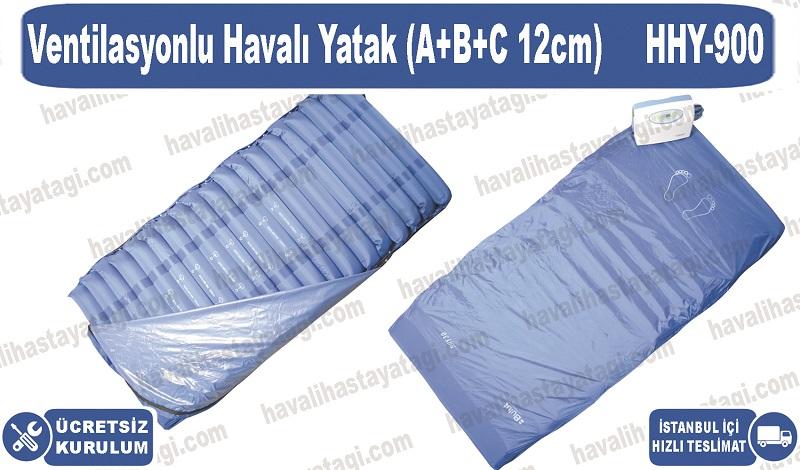 Ventilasyonlu Havalı Yatak (A+B+C 12cm)
