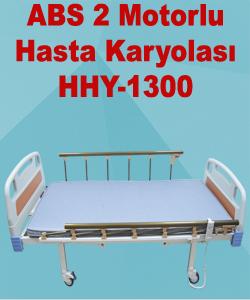 ABS 2 Motorlu Hasta Karyolası HHY-1300