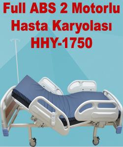 Full ABS 2 Motorlu Hasta Karyolası HHY-1750